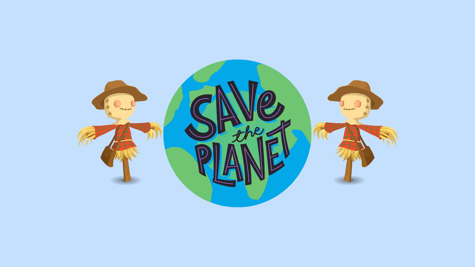 Scarecrow Trail 2021 – Save the Planet!