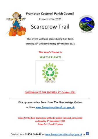 scarecrpw trail poster save the planet